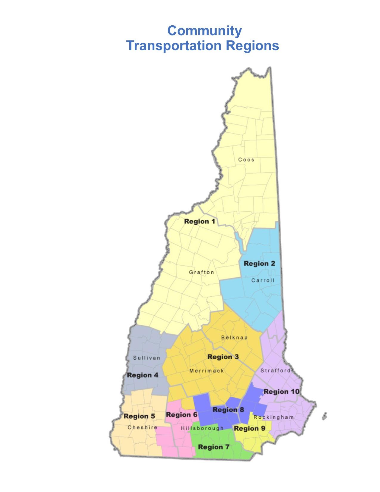state RCC regions